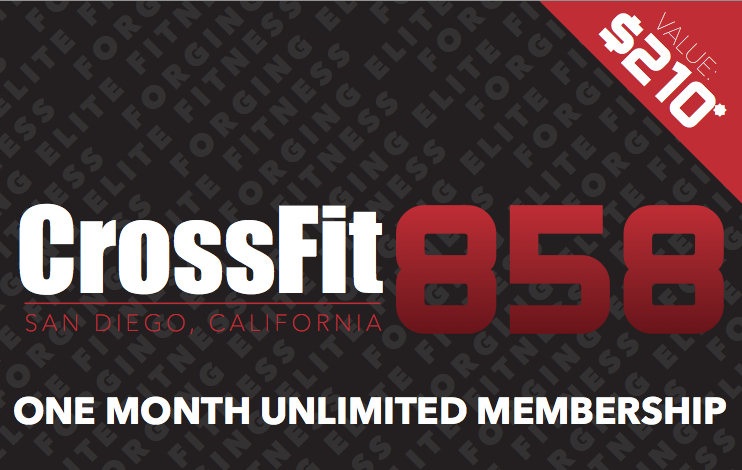 CrossFit 858 Holiday Gift Cards still on sale!!